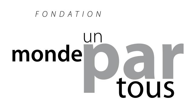 Fondation Un monde par tous (Fondation de France)