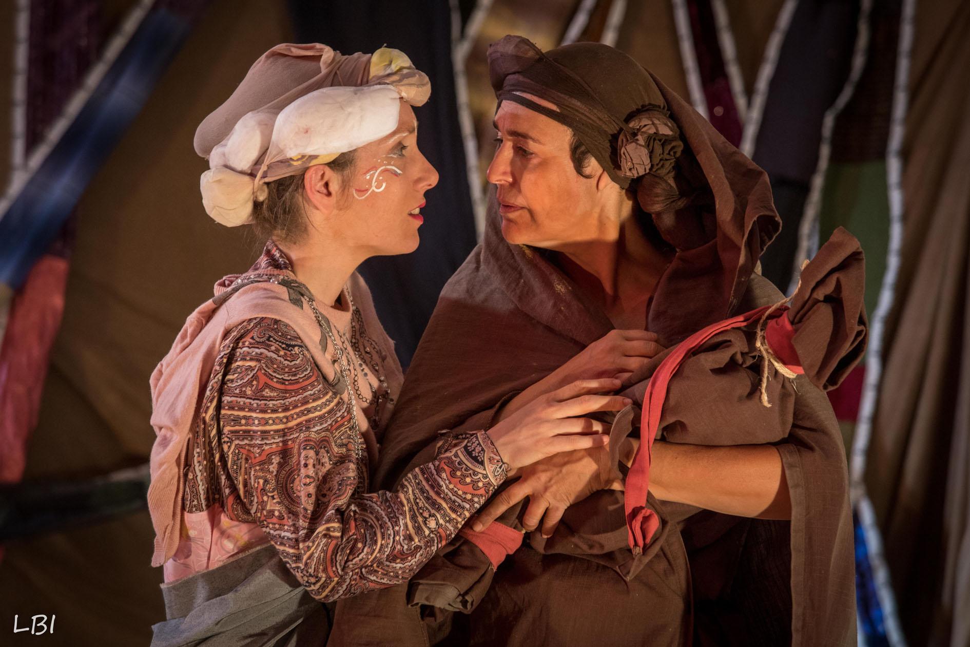Alika et Salina dans le nouveau spectacle du Théâtre d'Anoukis : Salina