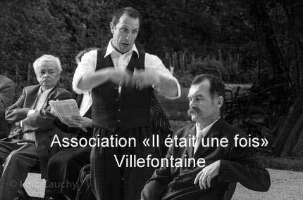 """Association de théâtre de Villefontaine """"Il était une fois"""""""