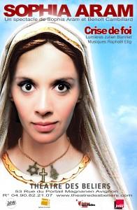 Sophia Aram Crise de foi Avignon