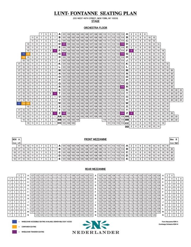 Lyceum Theatre Seating Chart Nyc Brokeasshome Com