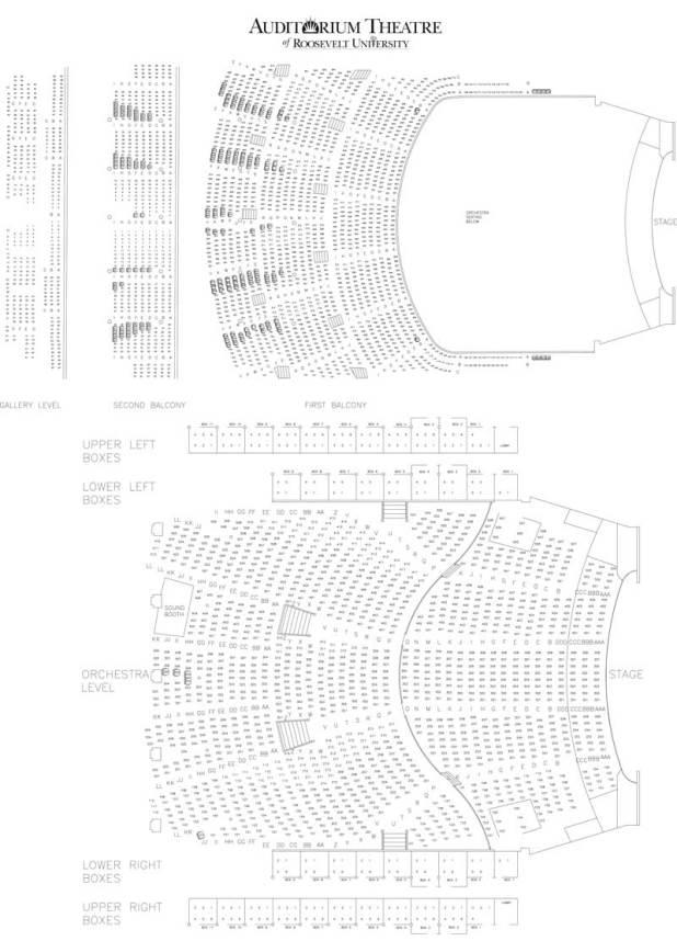 Honda Dealers Chicago >> auditorium theater seating chart | Brokeasshome.com