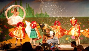 Lincoln High School's WIZARD OF OZ with TheatreWorld Professional Scenic Backdrop