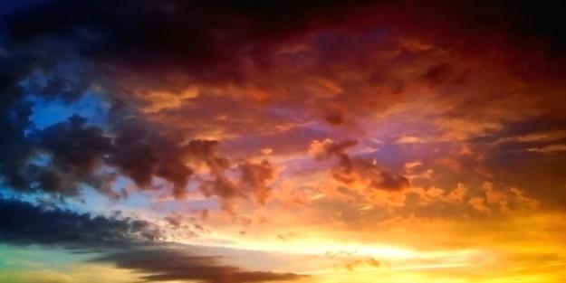 Fire Sky Professional Scenic Alice in Wonderland Backdrop