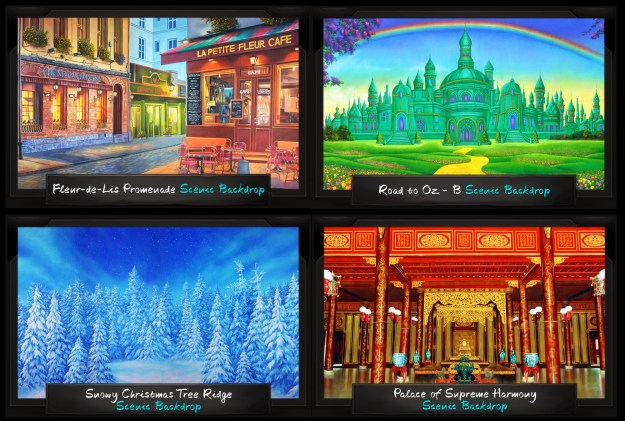 TheatreWorld's Latest Professional Scenic Backdrops