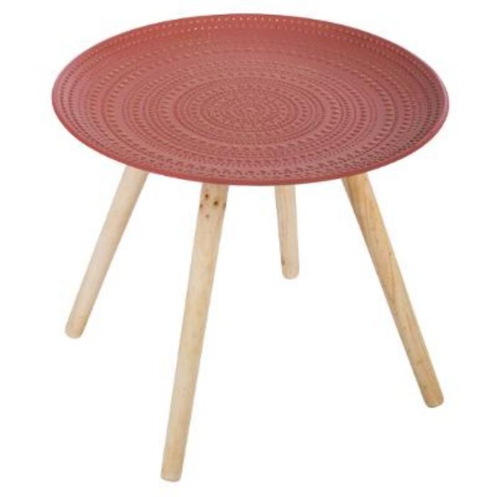 atmosphera living red coffee table