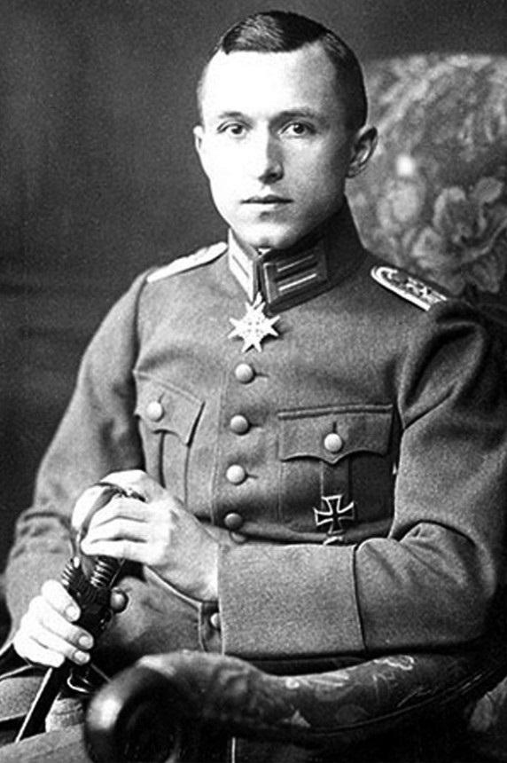 Ernst Jünger en 1918