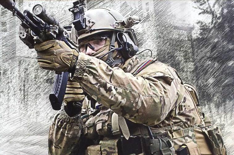 Commando russe