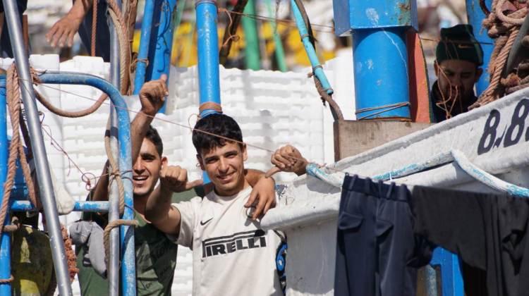 Jeunes marins pécheurs