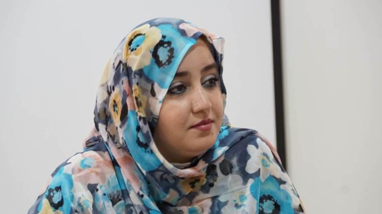 """Raaboub BHAI, une des fondatrice du centre d'études """"Sahara Réflexion"""""""