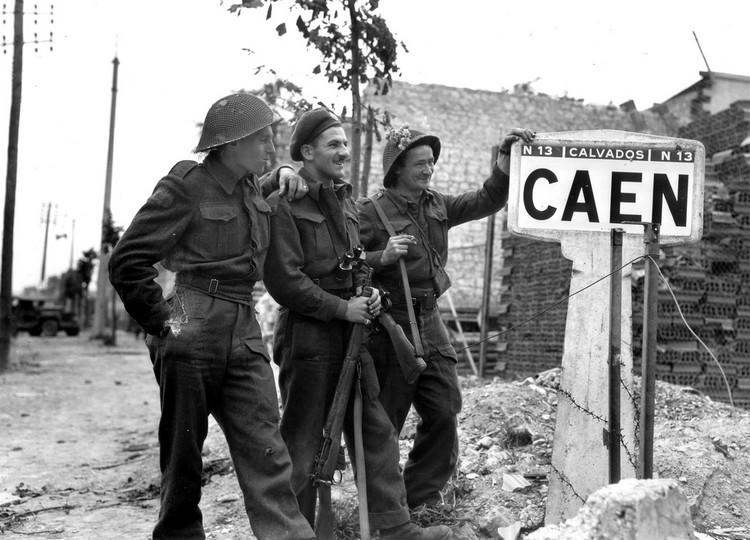 Bataille Caen