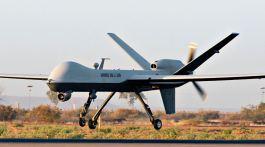 Drone américain REAPER de l'armée de l'Air française.