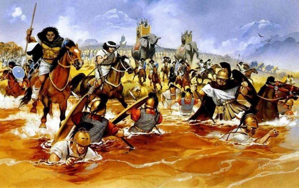 Bataille de Trasimène, par Angus McBride.