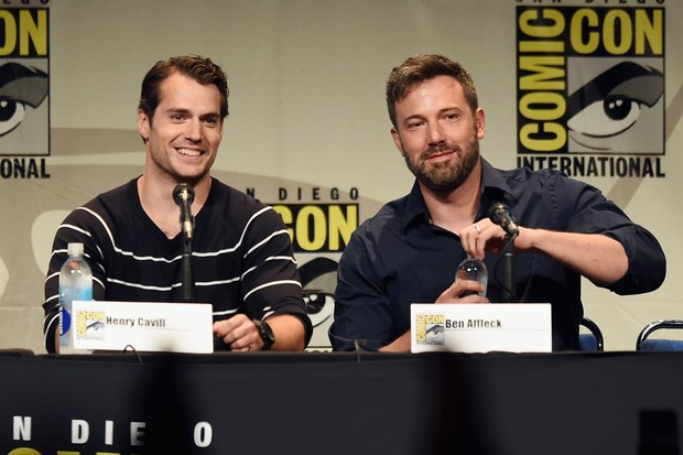 BATMAN VS SUPERMAN: BEN AFFLECK VS HERNY CAVILL