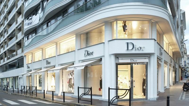Dior apre una nuova boutique a Cannes
