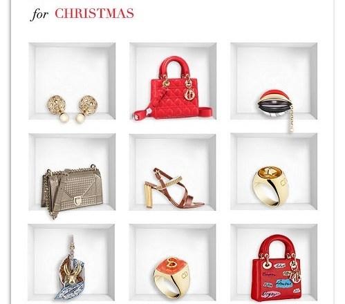 Under Christmas Tree – la guida ai regali di Natale di Dior