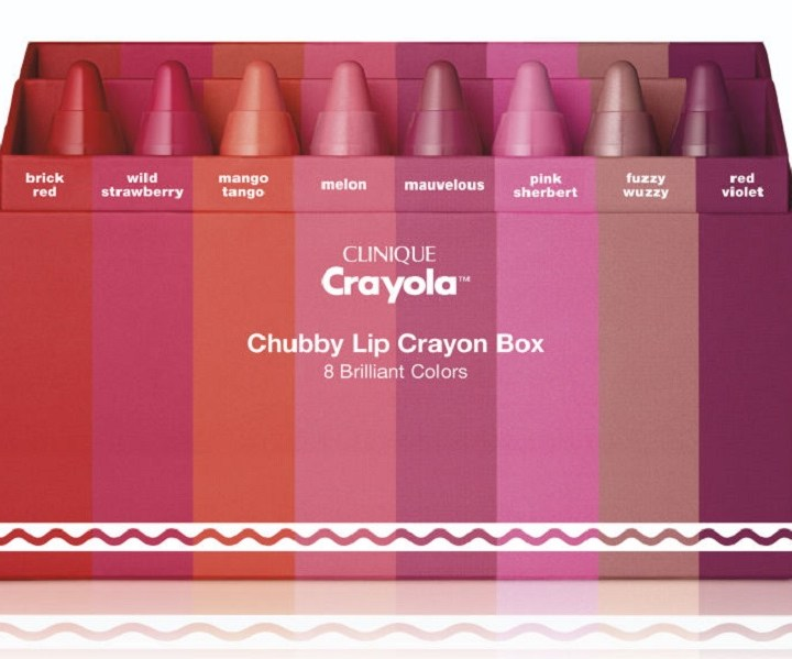 Crayola™ for Clinique Limited- fate splendere le vostre labbra