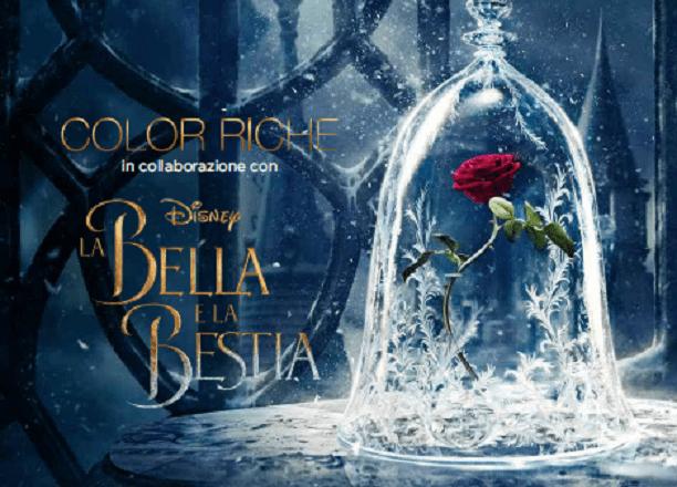 Color Riche per Disney La Bella e La Bestia