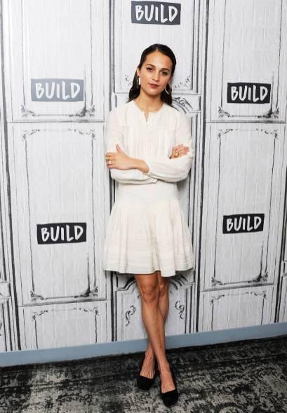 Alicia Vikander in Sea New York al Build Studio, New York