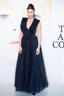 Bella Hadid in Dior al Dior 'The Art Of Color' Exhibition, Shanghai