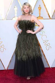 Haley Bennett in Christian Dior agli Oscars 2018, LA