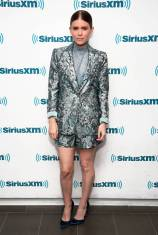 Kate Mara in Alice + Olivia ai SiriusXM Studios, New York