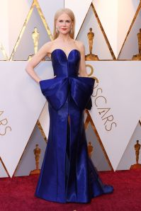 Nicole Kidman in Armani PRivè agli Oscars 2018, LA