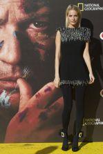 Poppy Delevingne in Christopher Kane, scarpe Roger Vivier e gioielli Bee Goddess alla Genius premiere,Spain