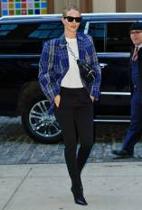 Rosie Huntington-Whiteley in Acne Studios, NY