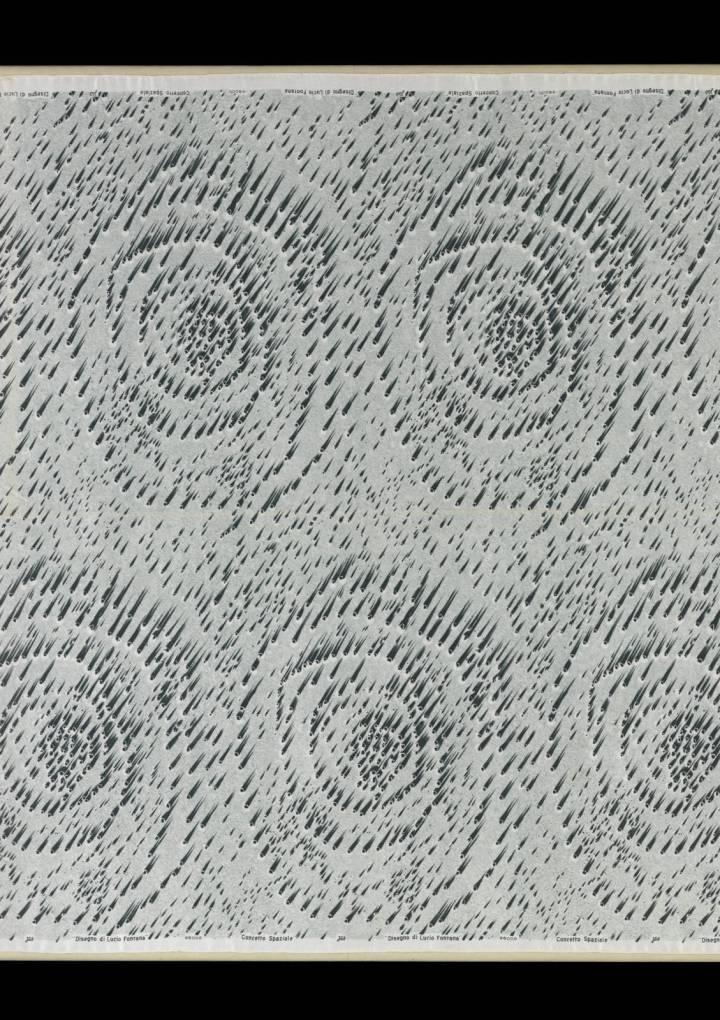 Borsa Italiana espone rari tessuti di arredo disegnati da Lucio Fontana