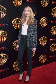 Amber Heard in Louis Vuitton al CinemaCon, Las Vegas