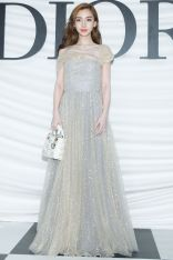 Angelababy in Dior gal couture show,Shanghai