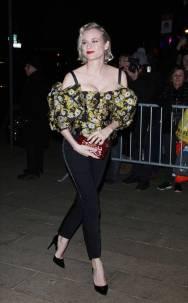 Diane Kruger in Dolce and Gabbana alla Dolce & Gabbana Alta Giorella exhibition, New York