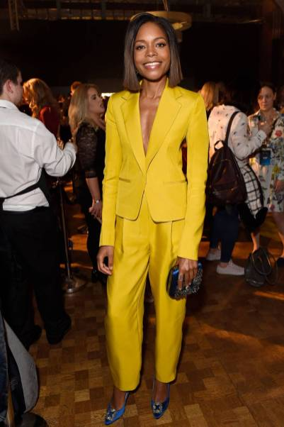 Naomie Harris in Roksanda alla Marriot International loyalty programme party, London