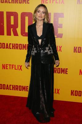 Olivia Wilde in Elie Saab alla 'Kodachrome' premiere, Hollywood