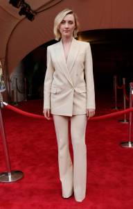 Saoirse Ronan in Michael Kors alla 'The Seagull' premiere, Tribeca Film Festival, New York
