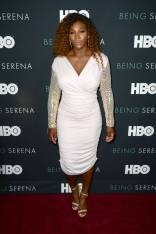 Serena Williams in Tom Ford alla 'Being Serena' premiere, New York
