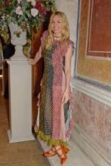 Sienna MIller in Dior al Formula E Cocktail Party, Rome