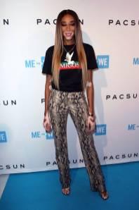 Winnie Harlow al Purpose x PacSun pre-party, Los Angeles