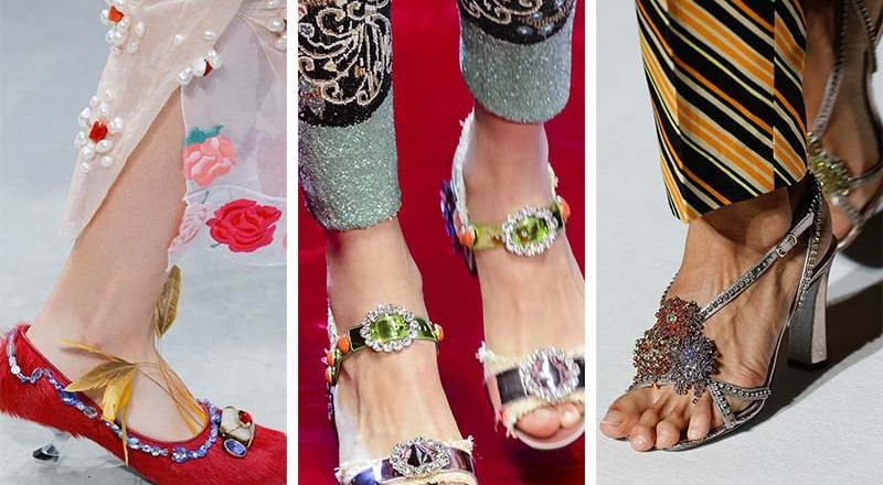 Flower Power: il trend delle scarpe 2018