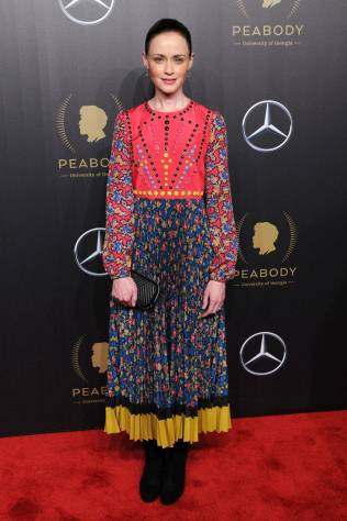 Alexis Bledel in REDValentino ai 77th Annual Peabody Awards, New York