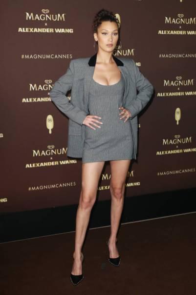 Bella Hadid al Magnum party, Cannes Film festival