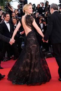 Cate Blanchett in Armani Pvè al Cannes Film Festival 2018