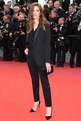 Chiara Mastroiani in Saint Laurent al Cannes film Festival