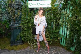 Paris Jackson in Dior al Welcome Dinner di Christian Dior Couture S/S 2019 Cruise Collection, Paris
