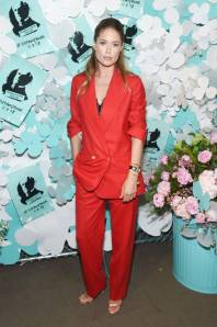 Doutzen Kroes al Tiffany & Co Paper Flowers Event And Believe In Dreams Campaign Launch, New York