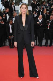 Doutzen Kroes in Tom Ford alla 'Solo A Star Wars Story' premiere, Cannes Film Festival