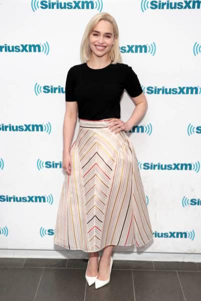 Emilia Clark al SiriusXM Town Hall, New York