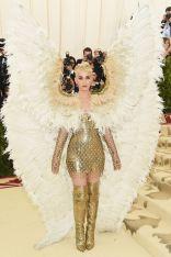 Katy Perry in Versace al Met Gala 2018