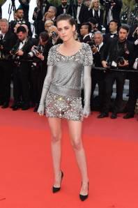 Kristen Stewart in Chanel alla 'BlacKkKlansman' premiere, Cannes Film Festival